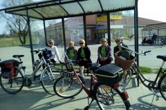 Rajd rowerowy do Wojnowic - 02.04.2017